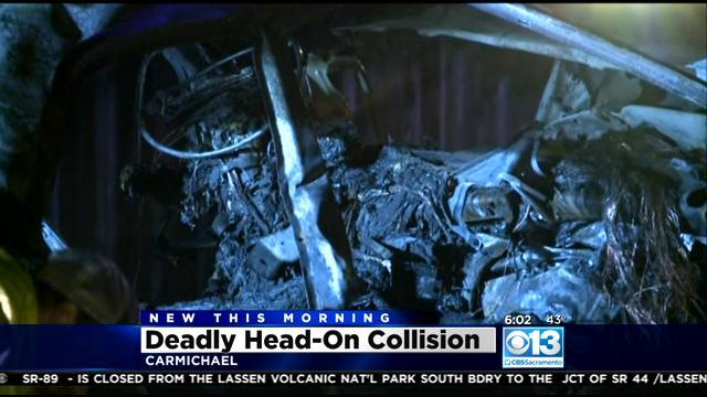 4 dead in fiery Northern California car crash