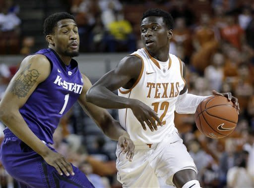 McGruder's 20 pace No. 13 K-State over Texas 81-69