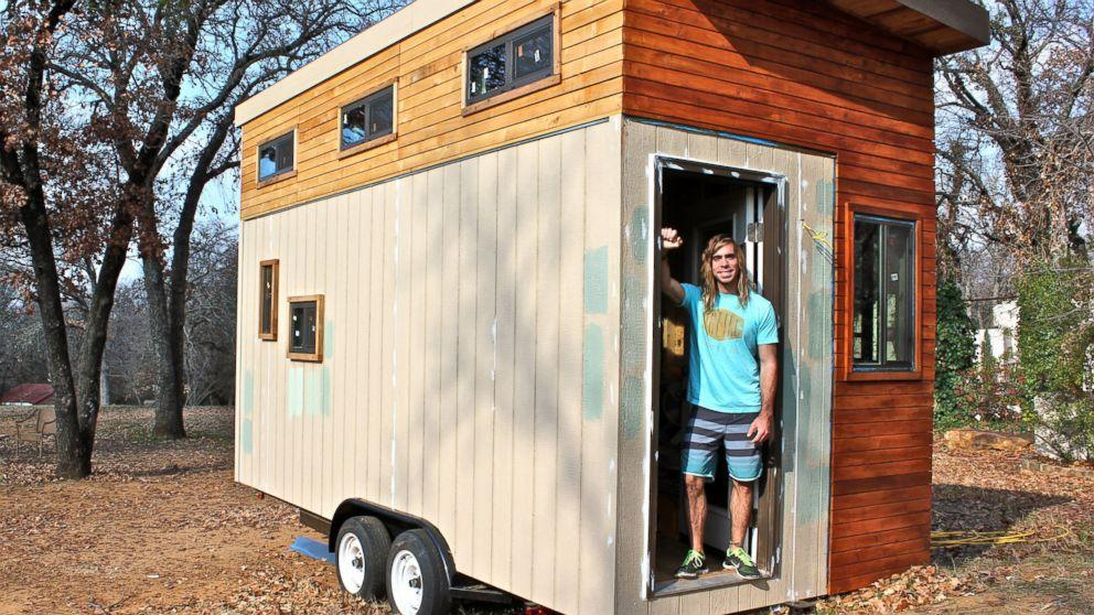 Texas Man Builds Miniature House in Hopes of Avoiding College Debt