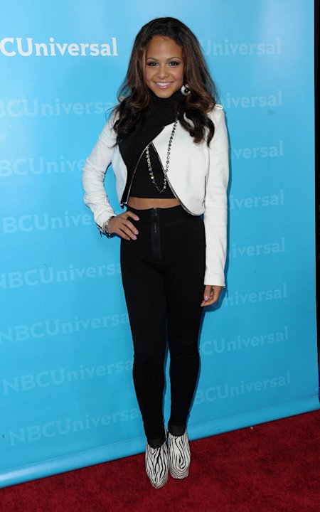 "Christina Milian (""The Voice"") attends the 2012 NBC Universal Winter TCA All-Star Party at The Athenaeum on January 6, 2012 in Pasadena, California."