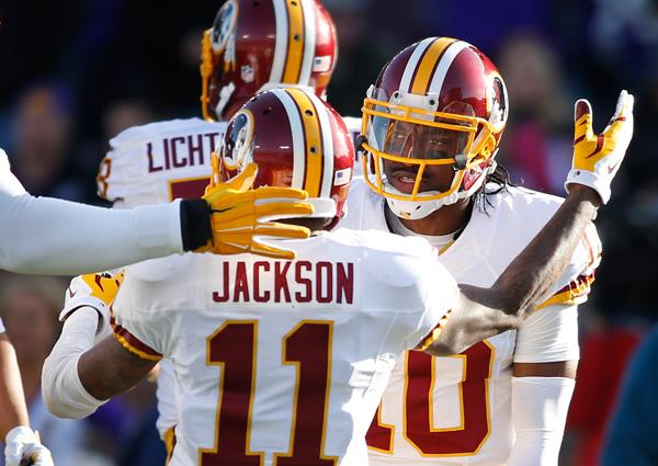 DeSean Jackson discusses Robert Griffin III's 'unfortunate situation'