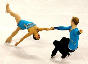 U.S. pairs skaters' date with destiny?