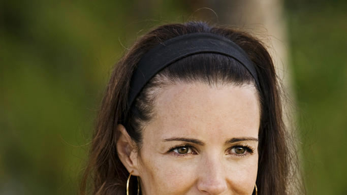 Kristin Davis Couples Retreat Production Stills Universal 2009