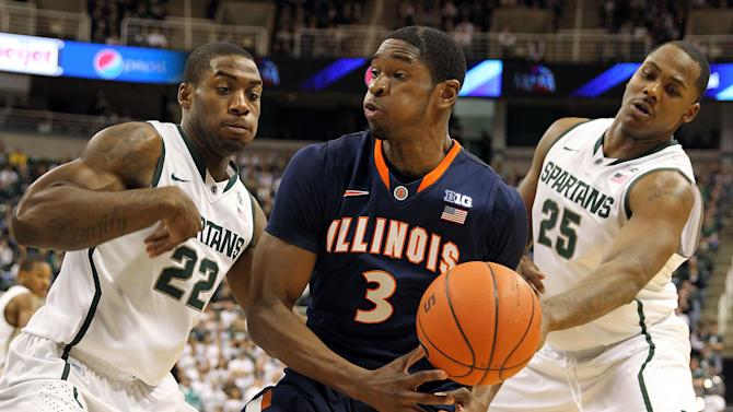 NCAA Basketball: Illinois at Michigan State