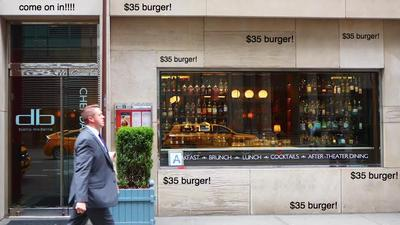 Sietsema and Sutton Revisit the DB Burger, the $35 Novelty That Became an Icon