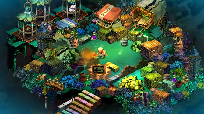"In this video game image released by Supergiant Games, a scene is shown from ""Bastion."" (AP Photo/Supergiant Games)"