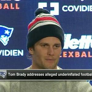 New England Patriots quarterback Tom Brady: 'I felt we won the game fair and square'