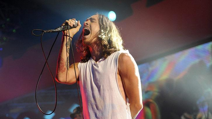 Brandon Boyd of Incubus performs at the 2008 VH1 Rock Honors honoring The Who at UCLA's Pauley Pavilion on July 12, 2008 in Los Angeles, California.