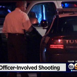 Domestic Dispute Leads To Officer-Involved Shooting In Tustin