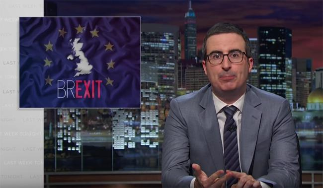 John Oliver's 'Brexit' Segment Wasn't Aired In Great Britain Before The Recent EU Referendum Vote