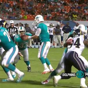 Miami Dolphins running back Daniel Thomas 5-yard TD run