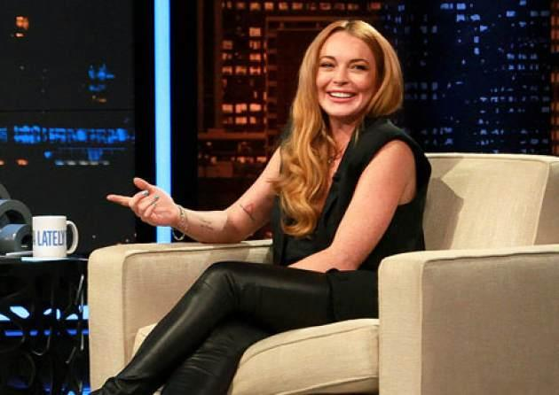 Lindsay Lohan seen on 'Chelsea Lately' on August 5, 2013 -- E! Entertainment Television