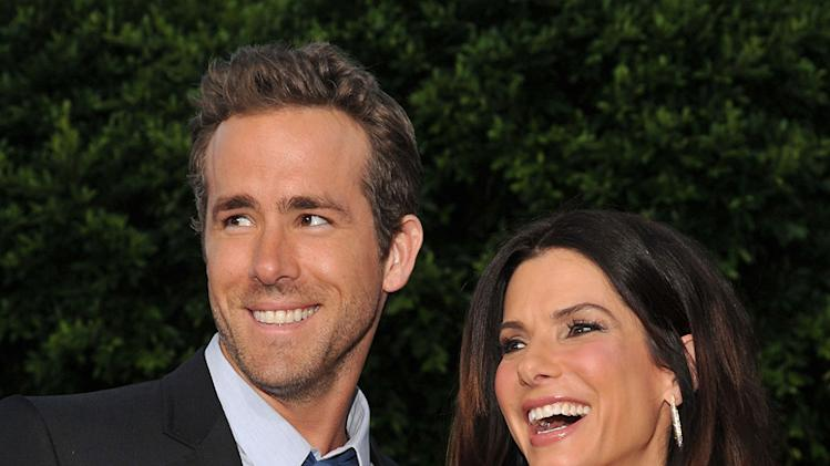 The Change Up LA premiere 2011 Ryan Reynolds Sandra Bullock