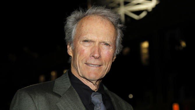 "Director Clint Eastwood arrives at the premiere of ""J. Edgar"" during the Opening Night Gala of AFI FEST 2011 in Los Angeles, Thursday, Nov. 3, 2011.  ""J. Edgar"" opens in theaters Nov. 9, 2011.  (AP Photo/Matt Sayles)"
