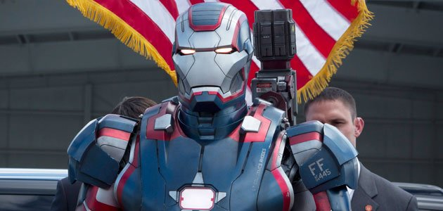 Iron Patriot from &amp;#39;Iron Man 3&amp;#39;