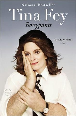 Bossypants by Tina Fey, at Barnes and Noble
