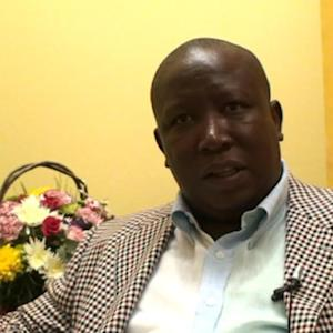 South Africa's Malema Blames ANC for Electricity Crisis