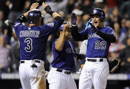 Gonzalez, Arenado lead Rockies past Rays, 9-3
