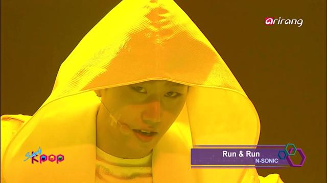 Simply K-Pop:♬ N-SONIC - Run & Run