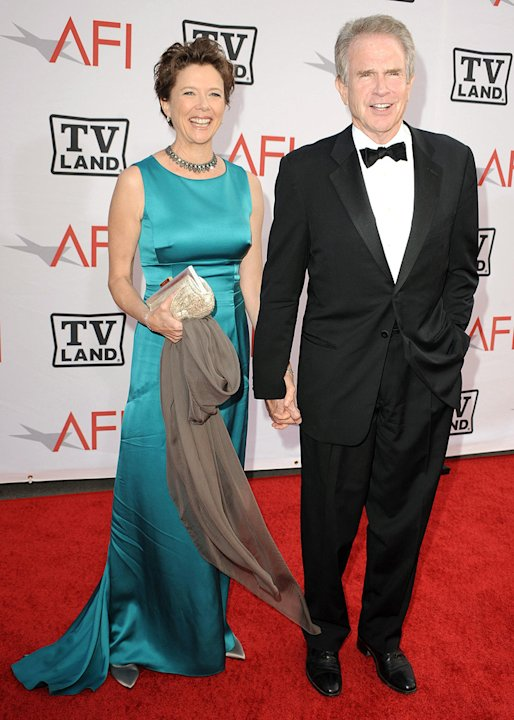 38th Annual Lifetime Achievement Award Honoring Mike Nichols 2010 Annette Bening Warren Beatty