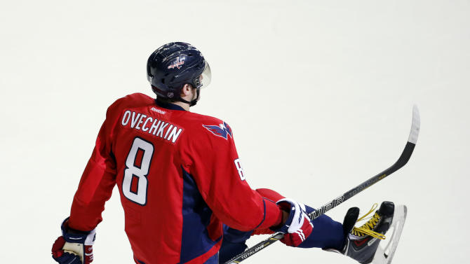 Ovechkin scores in OT; Capitals top Reds Wings 6-5