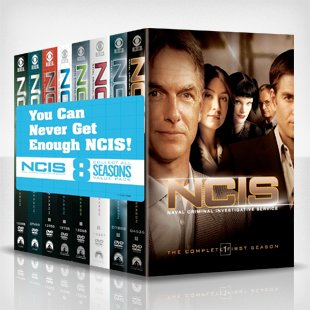 NCIS giveaway tile