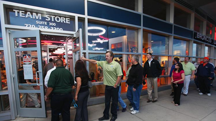 Denver Broncos Team Store Debuts New Nike Team Jerseys