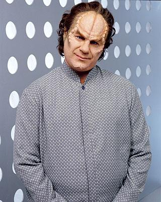 John Billingsley as Dr. Phlox on UPN's Enterprise Enterprise