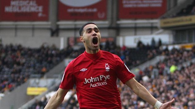 Lewis McGugan Nottingham Forest