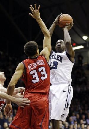No. 14 Butler uses defense to beat Richmond 62-47