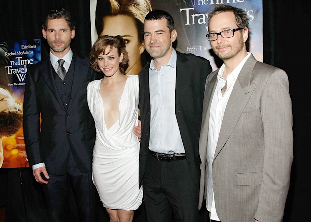The Time Traveler's Wife NY Premiere 2009 Eric Bana Rachel McAdams Ron Livingston Robert Schwentke
