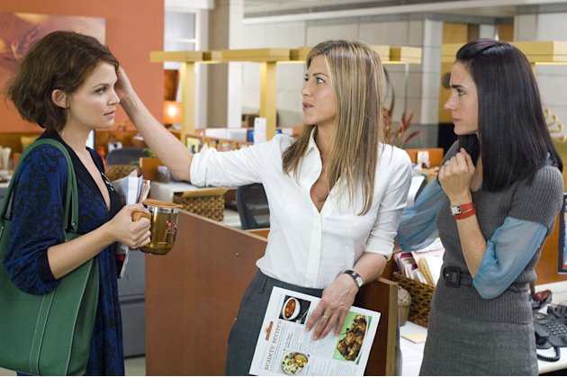 Ginnifer Goodwin Jennifer Aniston Jennifer Connelly He's Just Not That Into You Production Stills New Line 2009