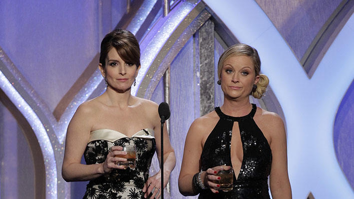 70th Annual Golden Globe Awards - Show: Tina Fey, Amy Poehler