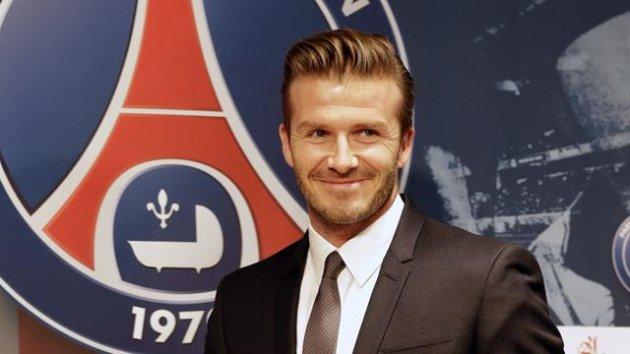 David Beckham, Paris Saint-Germain (Reuters)