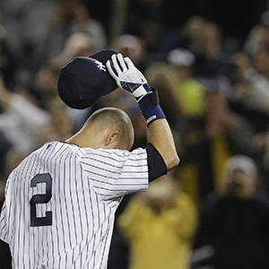 Jeter Wins It for Yankees in Home Farewell