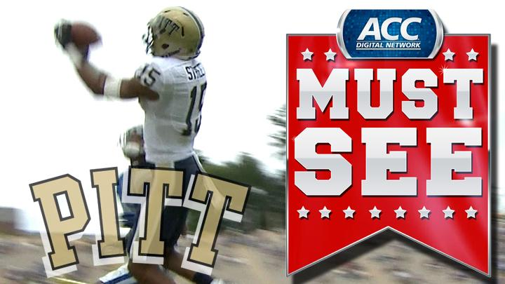 Pitt's Tom Savage Makes Perfect Throw To Devin Street For TD | ACC Must See Moment