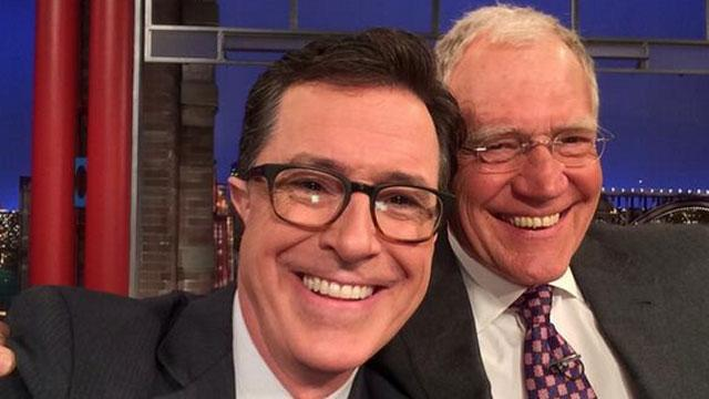 Stephen Colbert Reveals His Meeting With David Letterman