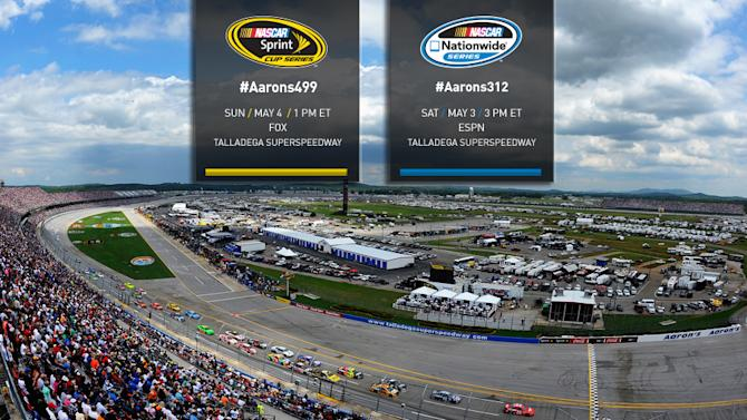 How to follow Talladega Cup, Nationwide races