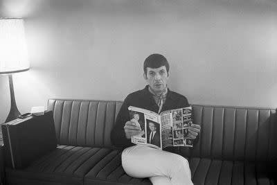 Leonard Nimoy didn't always love being Spock