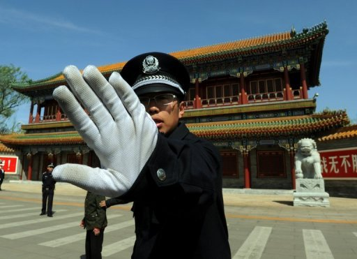 &lt;p&gt;A Chinese policeman blocks photos being taken outside Zhongnanhai which serves as the central headquarters for the Communist Party of China after the sacking of politician Bo Xilai from the countries powerful Politburo, in Beijing in April 2012. A Frenchman connected to disgraced Chinese politician Bo Xilai has returned to China to help the investigation&lt;/p&gt;
