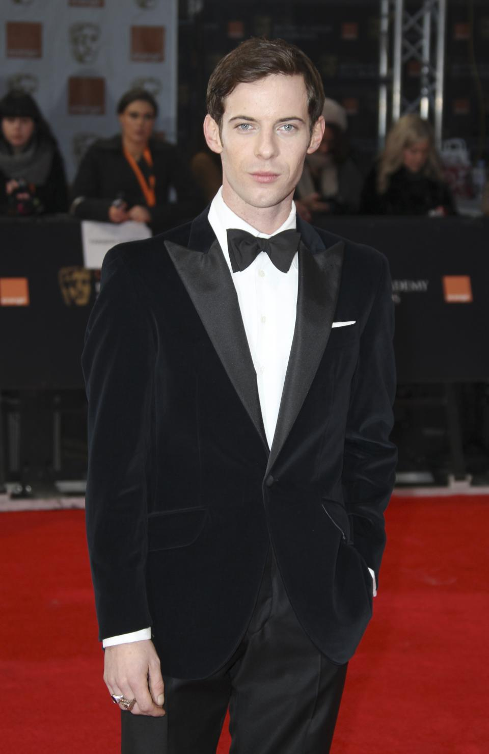 Actor Luke Treadaway arrives for the BAFTA Film Awards 2012, at The Royal Opera House in London, Sunday, Feb. 12, 2012. (AP Photo/Joel Ryan)