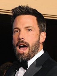 "Actor-director Ben Affleck at the Golden Globes on January 13, 2013 in Beverly Hills. His movie ""Argo"" recounts the long-classified CIA plot to extract the diplomats by pretending that they are part of a Hollywood film crew scouting for locations for a science fiction flick"