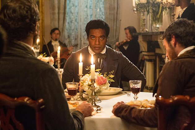 Chewetel Ejiofor as Solomon Northup in '12 Years a Slave'