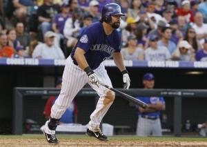 Gonzalez leads way as Rockies batter Cubs, 9-3
