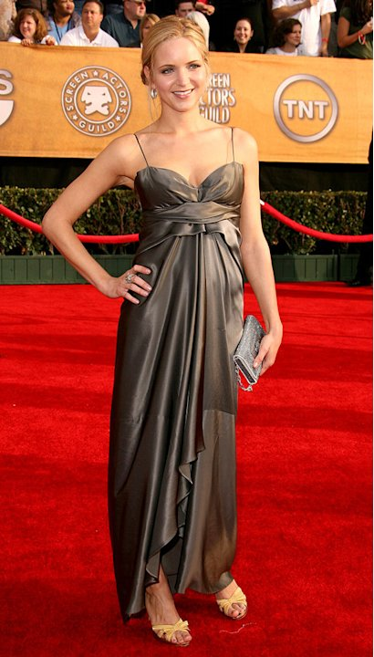 Jordana Spiro at the 13th Annual Screen Actors Guild Awards. 