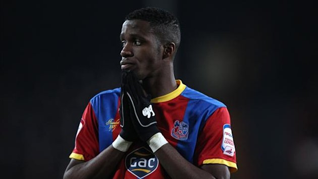 Crystal Palace's Wilfred Zaha (PA)