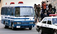 Photo illustration of a Japanese prison van in Tokyo. A Tokyo court on Thursday granted a new trial to a Nepalese man serving a life sentence for a high-profile 1997 murder, a court spokeswoman said