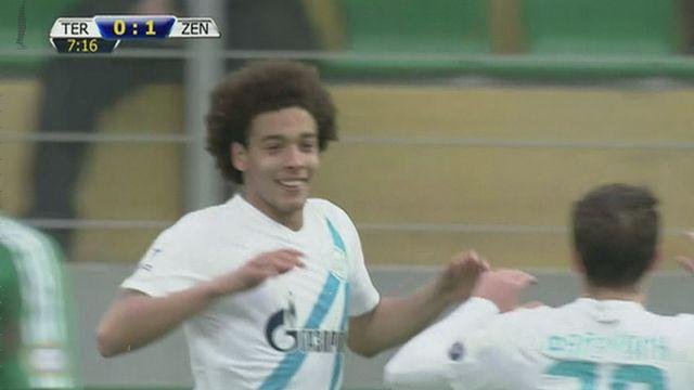 Zenit move up to second in Russian Premier League