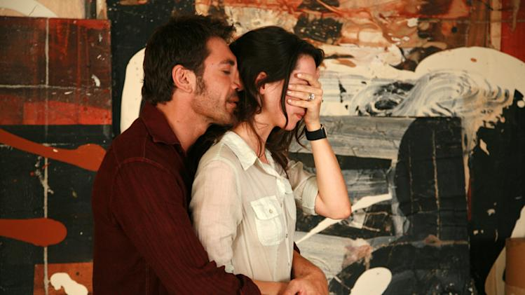 Javier Bardem Rebecca Hall Vicky Cristina Barcelona Production Stills Weinstein Company 2008