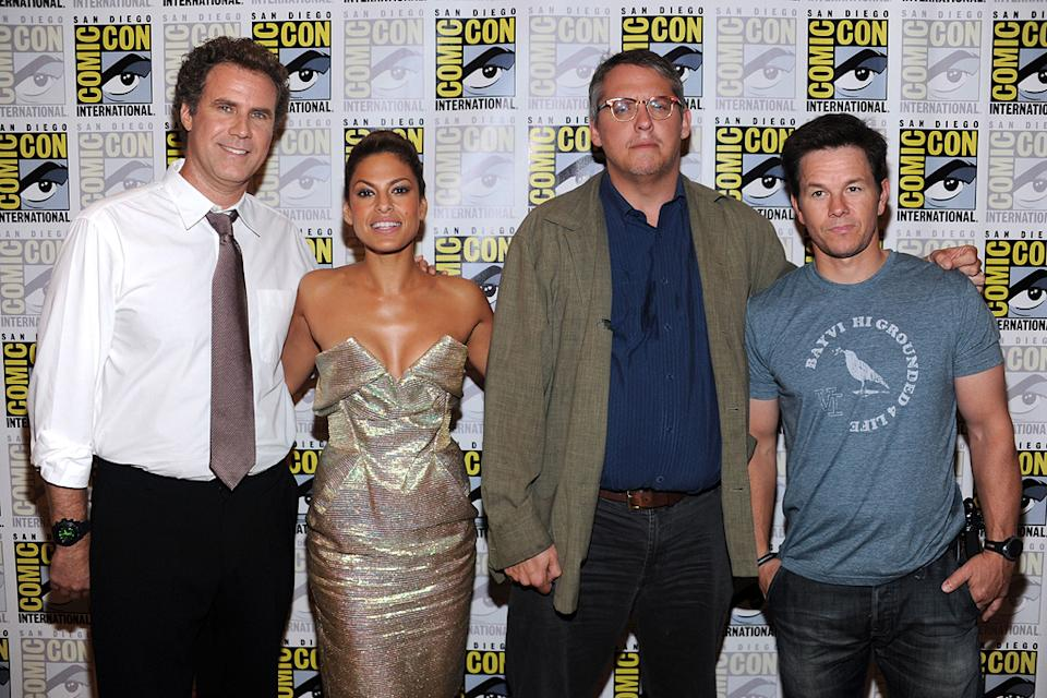 2010 Comic Con Panels Will Ferrell Eva Mendes Adam McKay Mark Wahlberg